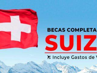 becas completas del gobierno de suiza