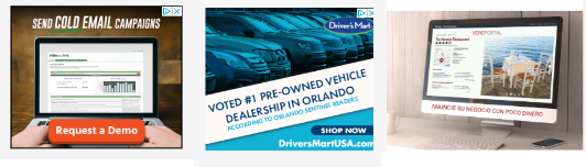 display ads banners